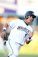 West Michigan Whitecaps shortstop Hernan Perez (9) during a game vs. the South Bend Silver Hawks at Fifth Third Field in Comstock Park, Michigan August 16, 2010.   West Michigan defeated South Bend 3-2.  Photo By Mike Janes/Four Seam Images