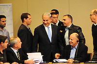 Benjamin Netanyahu -Israeli Prime Minister at Likud conference