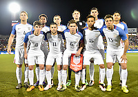 Frisco, Texas - March 29, 2016: The U.S. Men's U-23 National team go up against Colombia in 2016 Olympic Qualifying playoff action at Toyota Stadium.