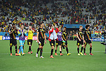 Belgium team group (BEL),<br /> JUNE 26, 2014 - Football / Soccer :<br /> Belgium players acknowledge crowd after the FIFA World Cup Brazil 2014 Group H match between South Korea 0-1 Belgium at Arena de Sao Paulo in Sao Paulo, Brazil. (Photo by SONG Seak-In/AFLO)