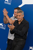 George Clooney, Matt Damon at the &quot;Suburbicon&quot; photocall, 74th Venice Film Festival in Italy on 2 September 2017.<br /> <br /> Photo: Kristina Afanasyeva/Featureflash/SilverHub<br /> 0208 004 5359<br /> sales@silverhubmedia.com