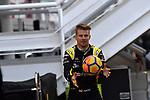 14.05.2019, Circuit de Catalunya, Barcelona, Formel 1 Testfahrten 2019 in Barcelona<br /> , im Bild<br />Nico Hülkenberg (GER#27), Renault F1 Team macht sich mit Fussballspielen warm für die Testfahrten<br /> <br /> Foto © nordphoto / Bratic