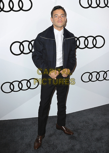 WEST HOLLYWOOD - SEPTEMBER 15:  Rami Malek at Audi Celebrates The 68th Emmys at Catch on September 15, 2016 in West Hollywood, California. <br /> CAP/MPI99<br /> &copy;MPI99/Capital Pictures