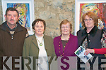 ATTENDING: John Kennelly, Dolores Carroll, Miriam Carey & Ester Kelly attending the Lartigue Theatre Company's presentation of Lovers' Meeting at St John's Arts Centre in Listowel on Saturday night last.
