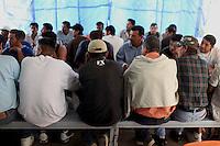 Nogales  Confine Arizona Messico centro di prima accoglienza migranti