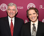 Arthur Makar and Charles Busch attend the 2016 Helen Hayes Award Dinner honoring Barbara Cook at The Players Club on November 17, 2016 in New York City.