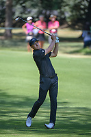 Jordan Spieth (USA) watches his approach shot on 2 during round 4 of the World Golf Championships, Mexico, Club De Golf Chapultepec, Mexico City, Mexico. 3/4/2018.<br /> Picture: Golffile | Ken Murray<br /> <br /> <br /> All photo usage must carry mandatory copyright credit (&copy; Golffile | Ken Murray)