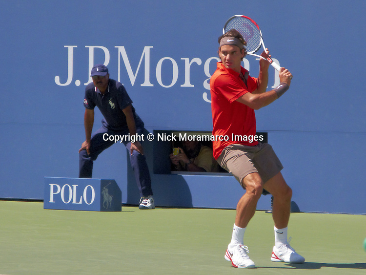 Roger Federer - U S Open - August 2008