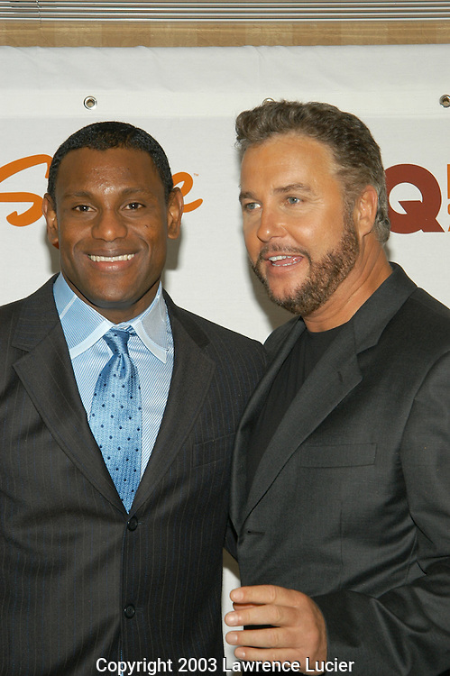 Sammy Sosa and William Petersen