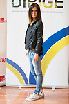 "Eva Santolaria attends to the photocall of the presentation of conferences ""Series juveniles que marcaron una generacion"" by Dirige Association in Madrid, Spain. March 27, 2017. (ALTERPHOTOS/BorjaB.Hojas)"
