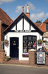 The Old Bank converted to a shop, Alfriston, East Sussex, England