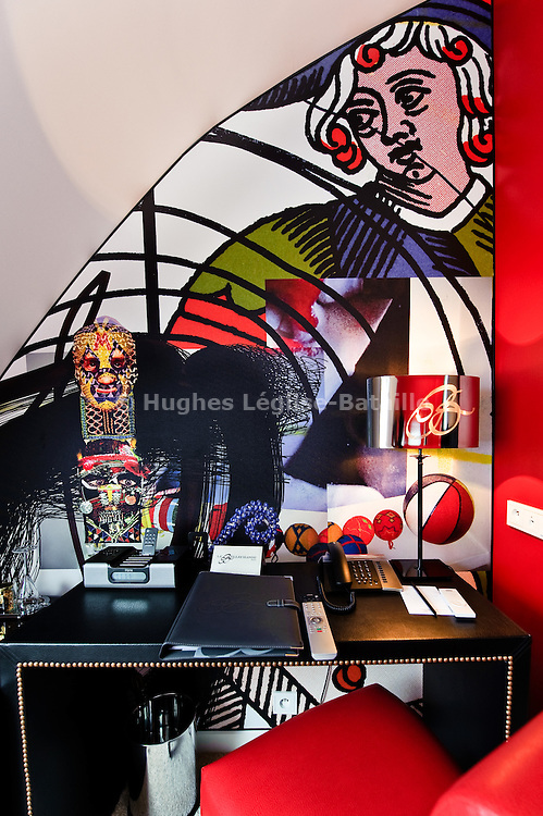 Hotel Bellechasse in Paris decorated by Christian Lacroix.