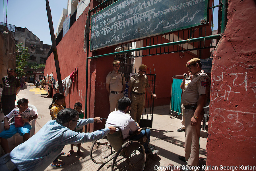 Indian Elections 2014. Chandni Chowk, Delhi<br />
