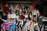 FANCY DRESS: Gerri Carmody, Fenit (seated 4th from left) held a fancy dress 18th Birthday in the Abbey gate Hotel, Tralee with her family and friends............. ....