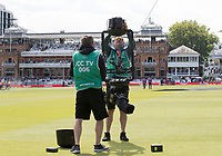 Running repairs to Spider Cam during Pakistan vs Bangladesh, ICC World Cup Cricket at Lord's Cricket Ground on 5th July 2019