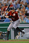11 July 2008: Houston Astros' right fielder Hunter Pence in action against the Washington Nationals at Nationals Park in Washington, DC. The Nationals shut out the Astros 10-0 in the first game of their 3-game series...Mandatory Photo Credit: Ed Wolfstein Photo