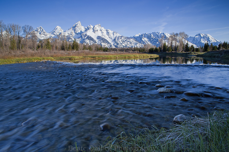 Morning at Schwabacher Landing, Grand Tetons National Park
