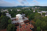 The newly renovated historical Rotunda at the University of Virginia in Charlottesville, Virginia. Photo/Andrew Shurtleff
