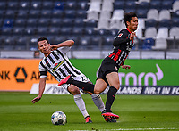 v.l. Nicolas Hoefler (SC Freiburg), Daichi Kamada (Eintracht Frankfurt) - 26.05.2020 Fussball 1.Bundesliga Spieltag 28, Eintracht Frankfurt  - SC Freiburg emspor, <br /> <br /> Foto: Jan Huebner/Pool/ Via Marc Schueler/Sportpics.de<br /> (DFL/DFB REGULATIONS PROHIBIT ANY USE OF PHOTOGRAPHS as IMAGE SEQUENCES and/or QUASI-VIDEO), Editorial use only. National and International News Agencies OUT