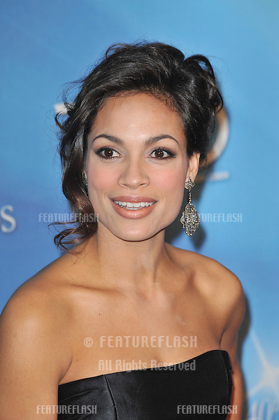 Rosario Dawson at the 40th NAACP Image Awards at the Shrine Auditorium, Los Angeles..February 12, 2009 Los Angeles, CA.Picture: Paul Smith / Featureflash
