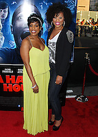 """LOS ANGELES, CA, USA - APRIL 16: Niecy Nash, Kellee Stewart at the Los Angeles Premiere Of Open Road Films' """"A Haunted House 2"""" held at Regal Cinemas L.A. Live on April 16, 2014 in Los Angeles, California, United States. (Photo by Xavier Collin/Celebrity Monitor)"""