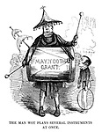 The Man Wot Plays Several Instruments at Once.