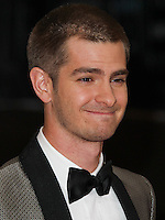 "NEW YORK CITY, NY, USA - MAY 05: Andrew Garfield at the ""Charles James: Beyond Fashion"" Costume Institute Gala held at the Metropolitan Museum of Art on May 5, 2014 in New York City, New York, United States. (Photo by Xavier Collin/Celebrity Monitor)"