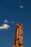 Rock formation in Monument Valley, Utah, USA