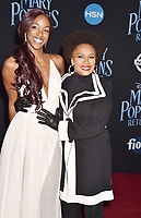 LOS ANGELES, CA - NOVEMBER 29: Charmaine Lewis (L) and Jenifer Lewis attend the Premiere Of Disney's 'Mary Poppins Returns' at El Capitan Theatre on November 29, 2018 in Los Angeles, California.<br /> CAP/ROT/TM<br /> &copy;TM/ROT/Capital Pictures