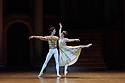 London, UK. 12.06.2018. Birmingham Royal Ballet present Sergei Prokofiev's ROMEO AND JULIET, with choreography by Kenneth MacMillan. Lighting design is by John B. Read and set and costume design by Paul Andrews. Picture shows: Yasuo Atsuji (Romeo), Nao Sakuma (Juliet). Photograph © Jane Hobson.