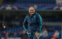Chelsea Assistant Coach Silvino Louro smiles during the UEFA Champions League Group G match between Chelsea and Dynamo Kyiv at Stamford Bridge, London, England on 4 November 2015. Photo by Andy Rowland.