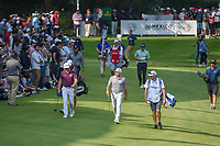 Sergio Garcia (ESP) smiles to the roaring crowd lined along 17 during round 4 of the World Golf Championships, Mexico, Club De Golf Chapultepec, Mexico City, Mexico. 2/24/2019.<br /> Picture: Golffile | Ken Murray<br /> <br /> <br /> All photo usage must carry mandatory copyright credit (© Golffile | Ken Murray)