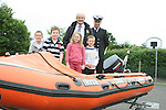 Stabannon Primary School pupils and headmaster when members of the Coastguard visited their school to give them a talk on water safety...Photo NEWSFILE/Jenny Matthews.(Photo credit should read Jenny Matthews/NEWSFILE)....This Picture has been sent you under the condtions enclosed by:.Newsfile Ltd..The Studio,.Millmount Abbey,.Drogheda,.Co Meath..Ireland..Tel: +353(0)41-9871240.Fax: +353(0)41-9871260.GSM: +353(0)86-2500958.email: pictures@newsfile.ie.www.newsfile.ie.FTP: 193.120.102.198.