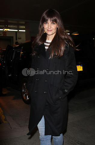 NEW YORK, NY - DECEMBER 7: Katie Holmes at AOL BUILD to talk about the her new movie All We Had in New York City on December 07, 2016. Credit: RW/MediaPunch