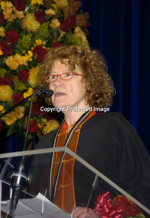 Jean Valentine..at the National Book Awards on November 17, 2004 at The Marriott Marquis. Photo by Robin Platzer, Twin Images