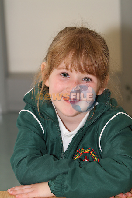 Scoil Mhuire Na Trocaire 2012 NS 1st Day at School 2012...Photo NEWSFILE/Jenny Matthews.