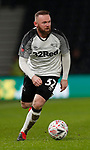 Wayne Rooney of Derby County during the FA Cup match at the Pride Park Stadium, Derby. Picture date: 4th February 2020. Picture credit should read: Darren Staples/Sportimage