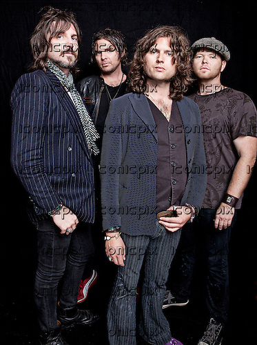 Rival Sons - photosession in Knebworth Hertfordsirie UK - July 9, 2011.  Photo credit: Ashley Maile / IconicPix  **PREMIUM COLLECTION**HIGHER RATES APPLY** *NO WEBSITES* *NO SUBSCRIPTIONS*