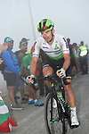 Ryan Gibbons (RSA) Team Dimension Data on the final climb of Stage 17 of the La Vuelta 2018, running 157km from Getxo to Balcón de Bizkaia, Spain. 12th September 2018.                   <br /> Picture: Colin Flockton | Cyclefile<br /> <br /> <br /> All photos usage must carry mandatory copyright credit (© Cyclefile | Colin Flockton)