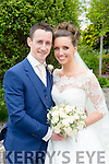 Roisin McVeigh, Essex, Daughter of Ian and Julia McVeigh, and Paudie O'Shea, Cahersiveen, son of Patrick and Eileen O'Shea were married at St. Gertrude's Church, Firies by Fr. John Ahern on Friday 27th May 2016 with a reception at Ballygarry House Hotel