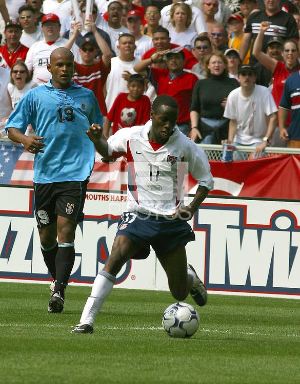 DaMarcus Beasley,Uruguay vs USA, 2002.