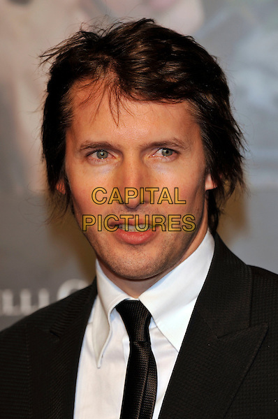 JAMES BLUNT .Attends the Pirelli Calendar 2010 Gala Dinner, Old Billingsgate, Old Billingsgate Walk, London, England, UK,.20th November 2009..portrait headshot black tie white shirt stubble facial hair .CAP/PL.©Phil Loftus/Capital Pictures.