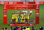 Australia Women, Final during the Second day at Paris Sevens 2018 at Stade Jean Bouin, Paris, France HSBC World Rugby Sevens Series. Photo Martin Seras Lima