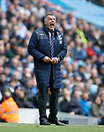 Sam Allardyce manager of Crystal Palace during the English Premier League match at the Etihad Stadium, Manchester. Picture date: May 6th 2017. Pic credit should read: Simon Bellis/Sportimage