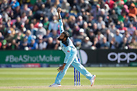 Adil Rashid (England) during England vs Bangladesh, ICC World Cup Cricket at Sophia Gardens Cardiff on 8th June 2019