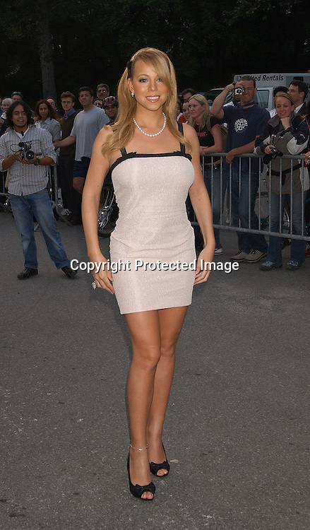 Mariah Carey in Louis Vuitton dress                                ..at The Fresh Air Fund's salute to American Heroes Gala on ..June 5,2003  at The Tavern on the Green.Photo By Robin Platzer, Twin Images