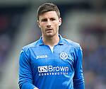 St Johnstone FC...  Season 2014-2015<br /> Michael O'Halloran<br /> Picture by Graeme Hart.<br /> Copyright Perthshire Picture Agency<br /> Tel: 01738 623350  Mobile: 07990 594431