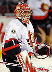 10 February 2007: Ottawa Senators goaltender Ray Emery warms up prior to facing the Montreal Canadiens at the Bell Centre in Montreal, Canada. The Senators defeated the Canadiens 5-3 in front of a hometown sellout crowd of 21,273.