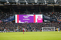 1st February 2020; London Stadium, London, England; English Premier League Football, West Ham United versus Brighton and Hove Albion; VAR allows Glenn Murrays goal to level the game at 3-3