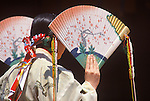 Spring Festival Dancer, Meiji Shrine, Jingumae, Tokyo, Japan
